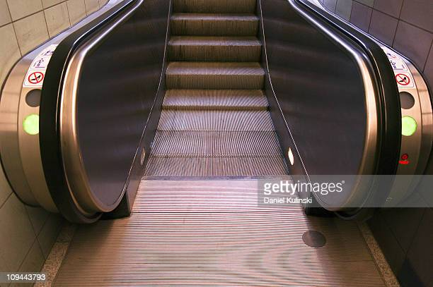 stairs to the top - escalator stock pictures, royalty-free photos & images