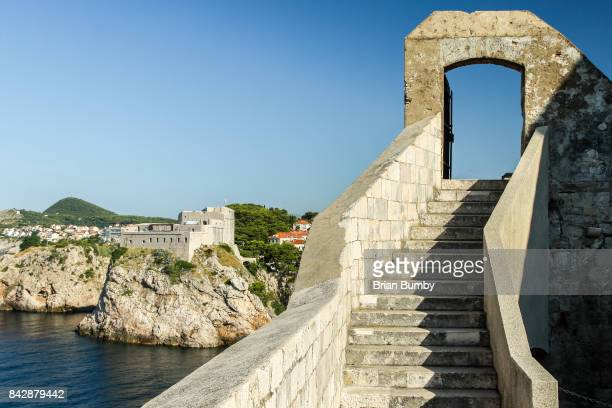Stairway and Gate, City Walls, Dubrovnik, Croatia