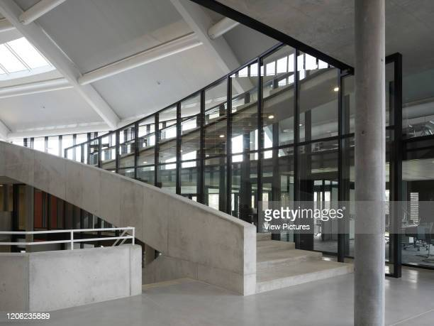 Stairway Auditorium Carnal Hall at Le Rosey Rolle Switzerland Architect Bernard Tschumi 2015