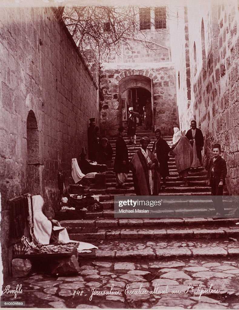 Stairway Up To The Holy Sepulchre Pictures Getty Images