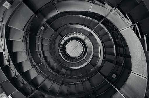 Stairway in lighthouse - gettyimageskorea