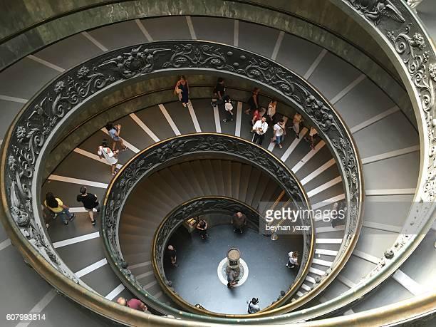 Stairway in Vatican Museum