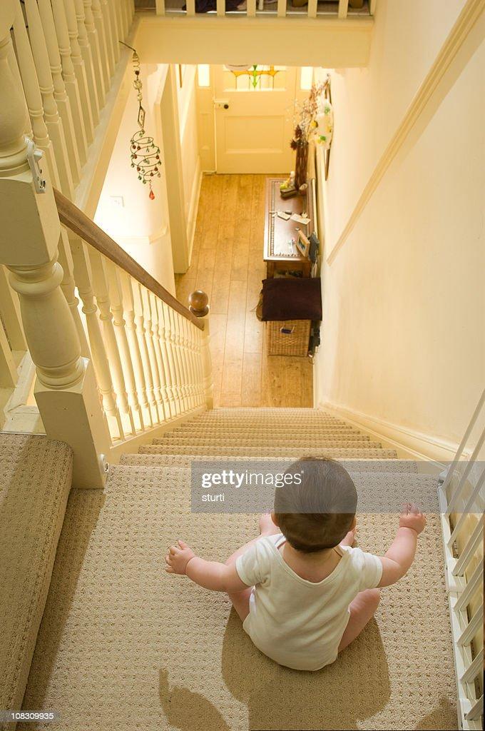 stairway to danger : Stock Photo