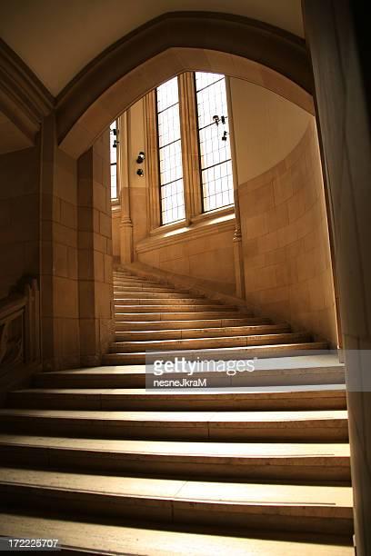 Stairway to Heaven?  No.  Upstairs.