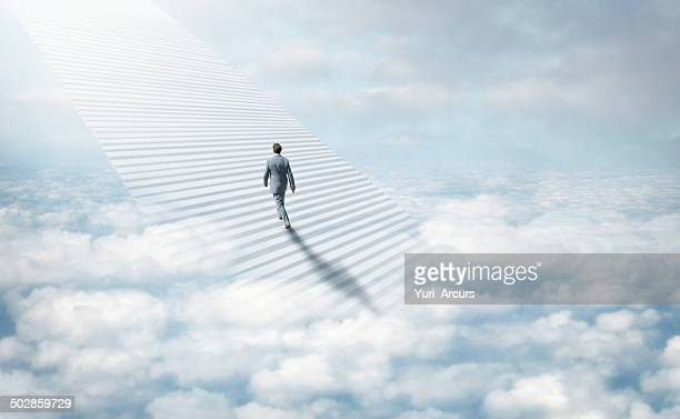 stairway to heaven - elysium stock photos and pictures