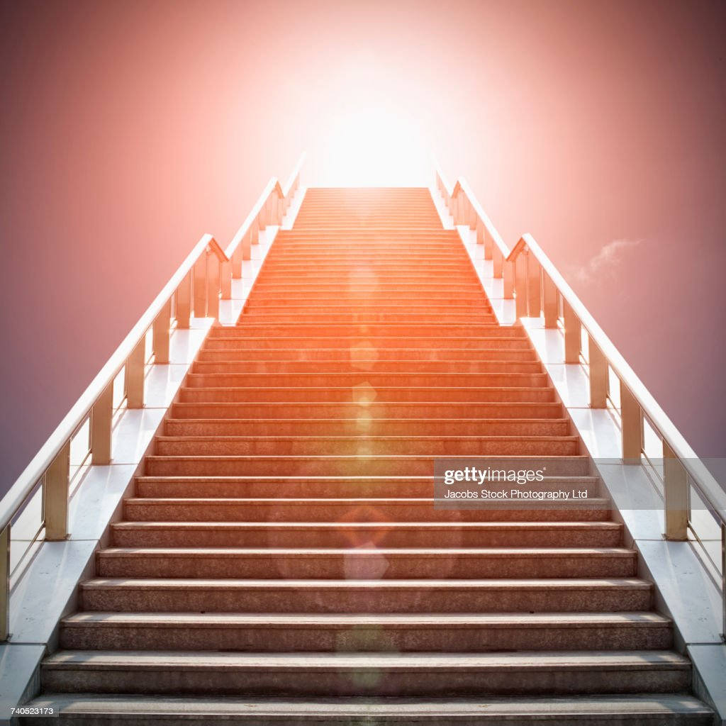 Stairway to heaven : Stock Photo