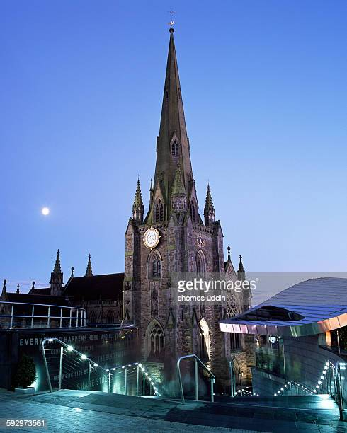 stairways to st martin in the bull ring - bullring shopping centre stock pictures, royalty-free photos & images