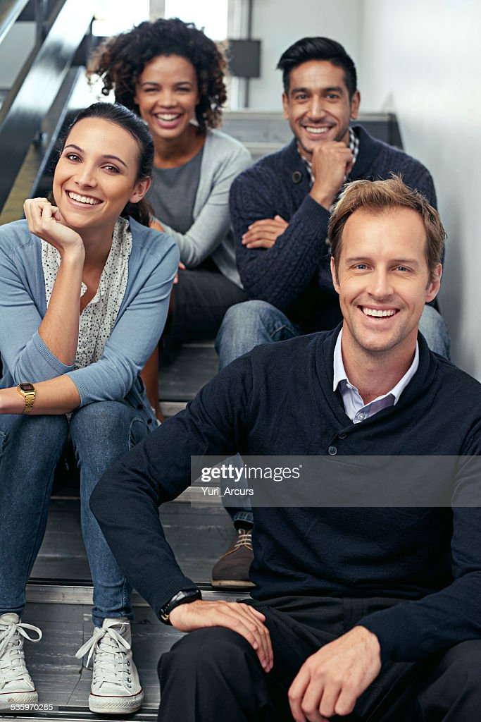 Stairwell timeout : Stock Photo