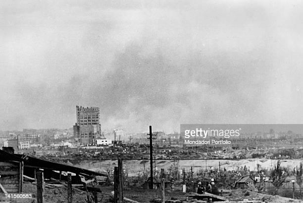 Stalingrad today Volgograd destroyed after the battle Stalingrad October 1942