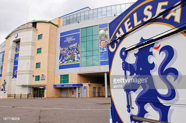 stamford bridge - fulham chelsea stock photos and pictures