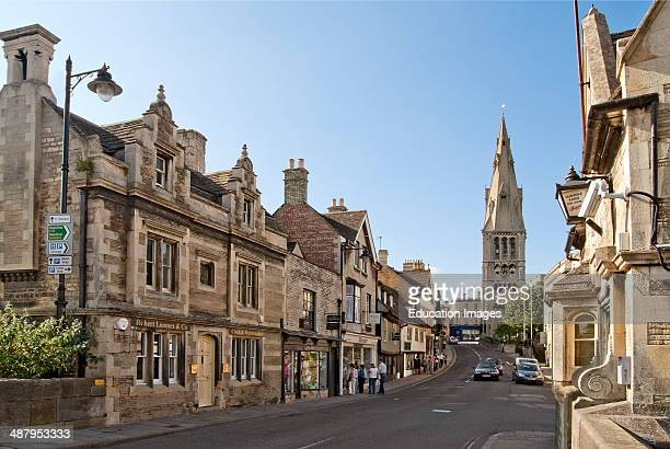 Stamford is an ancient town located approximately 100 miles to the north of London at the old Great North Road leading to York and Edinburgh