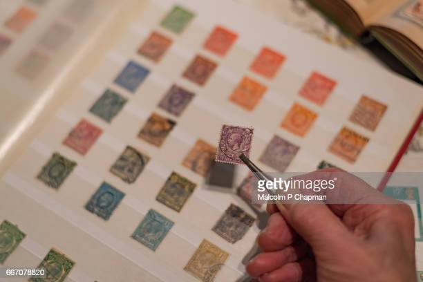 Stamp Collecting - Philately.
