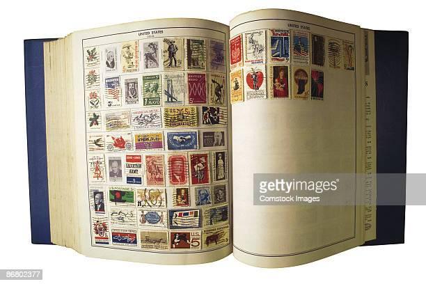 Stamp collection album