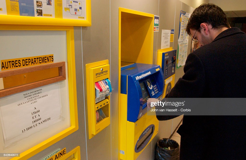 Stamp Vending Machine In A Post Office News Photo Getty