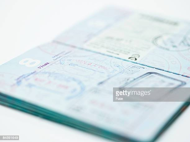 Stamped Passport