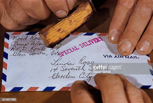 Stamping Letter for Special Delivery