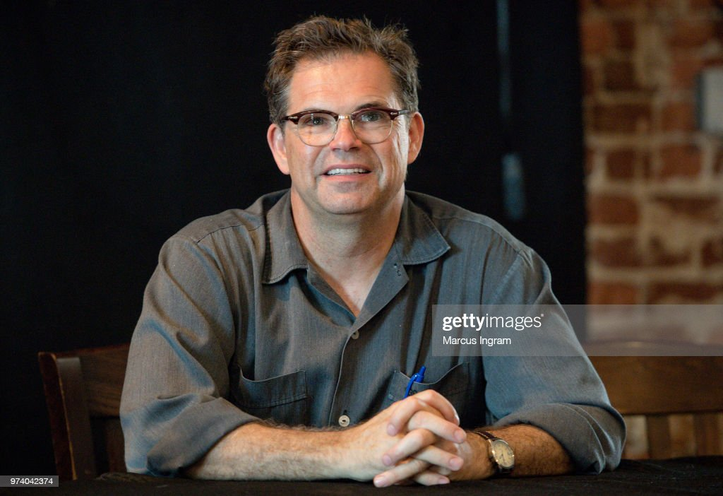 'Stan Against Evil' creator Dana Gould speaks on stage during the panel discussion for 'Stan Against Evil' on June 13, 2018 in Atlanta, Georgia.