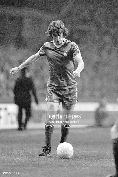 Stan Bowles in action for Nottingham Forest during the 1st Division match between Everton and Nottingham Forest at Goodison Park in Liverpool 1st...