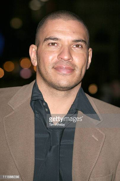 Stan Collymore during Basic Instinct 2 Risk Addiction World Premiere Outside Arrivals at Vue Leicester Square in London Great Britain