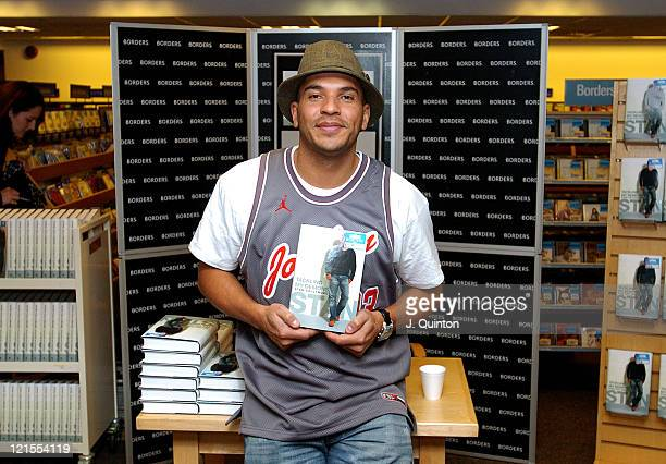 Stan Collymore during Stan Collymore Signs Copies of Tackling My Demons at Borders Book Shop in London Great Britain