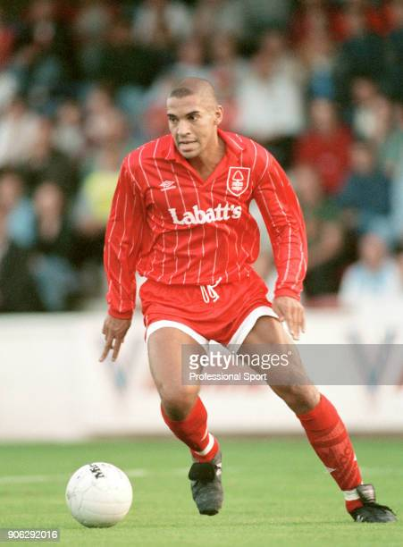 Stan Collymore of Nottingham Forest in action circa 1994