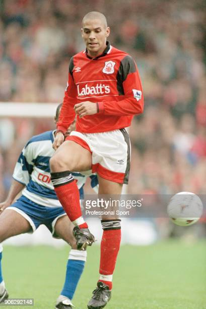 Stan Collymore of Nottingham Forest in action during the FA Carling Premiership match between Nottingham Forest and Queens Park Rangers at the City...