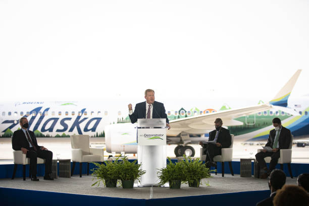 VA: Boeing And Alaska Airlines Preview Latest EcoDemonstrator Program