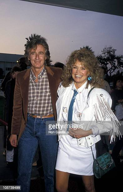Stan Fimberg and Dyan Cannon during SHARE Boomtown Party - May 16, 1987 at Santa Monica Civic Auditorium in Santa Monica, California, United States.