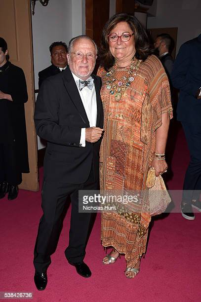 Stan Herman and Fern Mallis attend the 2016 CFDA Fashion Awards at the Hammerstein Ballroom on June 6, 2016 in New York City.