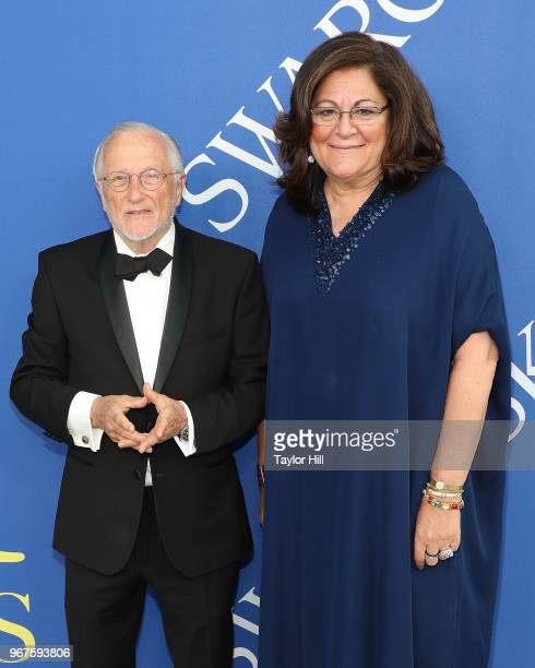 Stan Herman and Fern Mallis attend the 2018 CFDA Awards at Brooklyn Museum on June 4 2018 in New York City