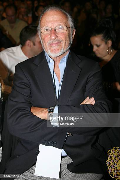 Stan Herman attends ANNA SUI Spring 2008 Collection at The Tent on September 10 2007 in New York City