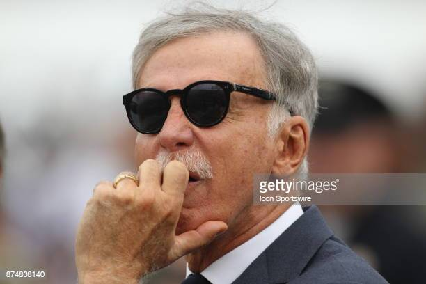 Stan Kroenke owner of the Rams during an NFL game between the Houston Texans and the Los Angeles Rams on November 12 2017 at the Los Angeles Memorial...