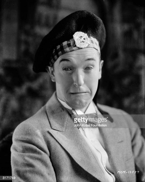 Stan Laurel as he appears in 'Putting Pants On Philip' directed by Clyde Bruckman Laurel plays Philip a kilted Scotsman who visits his pompous uncle...