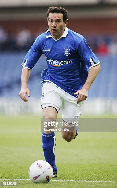 Stan Lazaridis of Birmingham City in action during the Pre Season Friendly match between Sheffield Wednesday and Birmingham City at Hillsborough on...