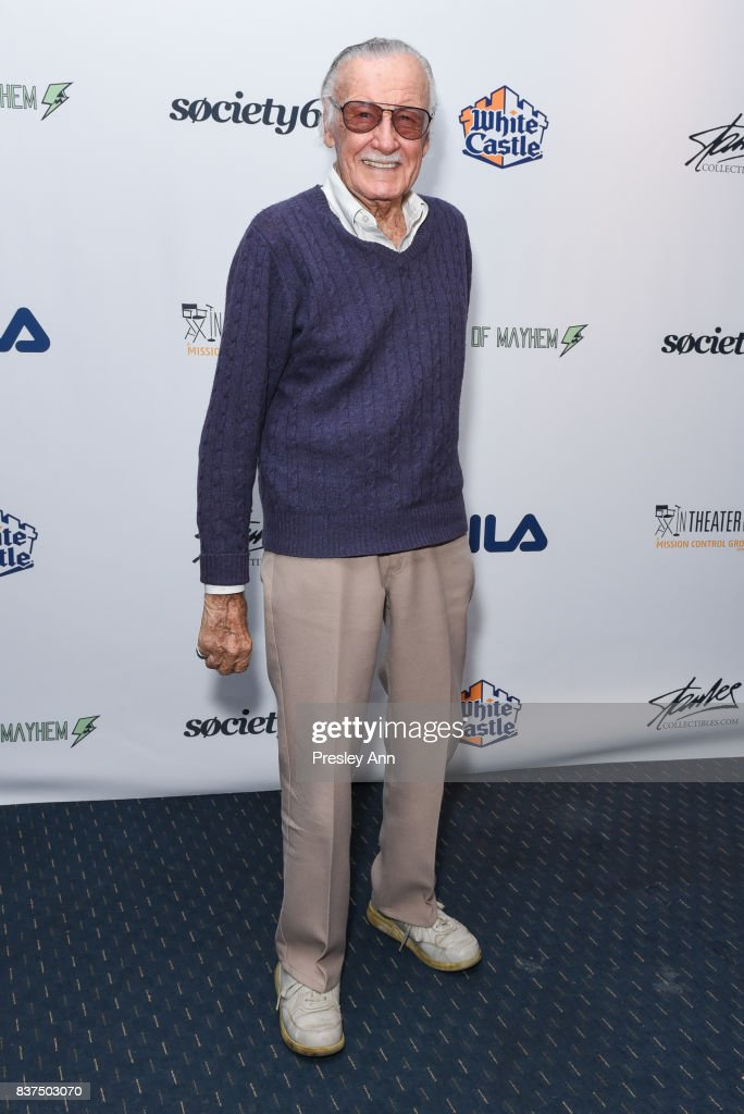 Stan Lee at Saban Theatre on August 22, 2017 in Beverly Hills, California.
