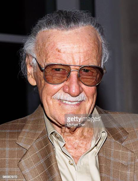 Stan Lee attends the Marvell launches event for the new optical fiber broadband technology called AVANTA held at the W Hollywood on April 20 2010 in...