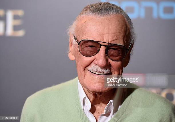 "Stan Lee attends the Premiere of Disney and Marvel Studios' ""Doctor Strange"" on October 20, 2016 in Hollywood, California."