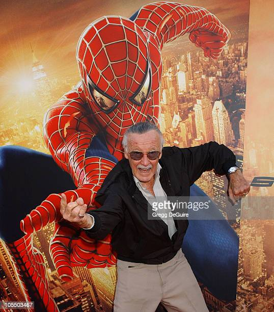 Stan Lee during 'SpiderMan 2' Los Angeles Premiere Arrivals at Mann Village in Westwood California United States