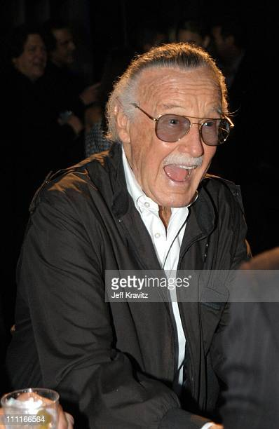 Stan Lee during The Official Launch Party For Spike TV At The Playboy Mansion Inside at The Playboy Mansion in Bel Air California United States