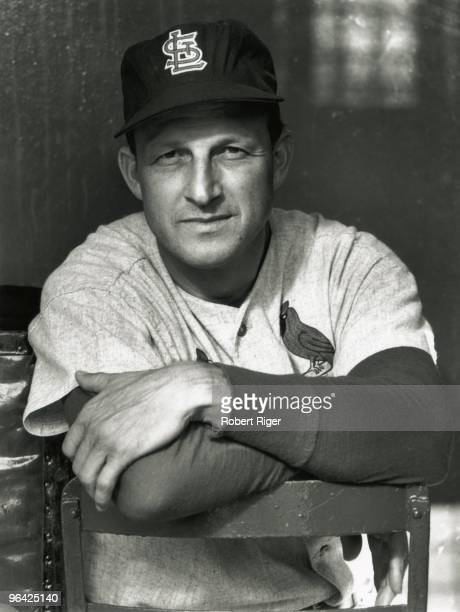 Stan Musial of the St Louis Cardinals poses for a photo circa 1960