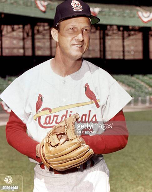 Stan Musial of the St Louis Cardinals poses for a portrait in midswing Stan Musial played for the St Louis Cardinals from 19411963