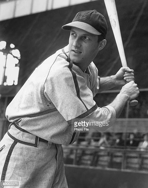 Stan Musial of the StLouis Cardinals poses for an action portrait before a season game Stan Musial played for the StLouis Cardinals from 19411963
