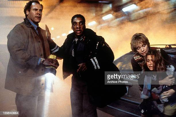 Stan Shaw in a disastrous situation in a scene from the film 'Daylight' 1996