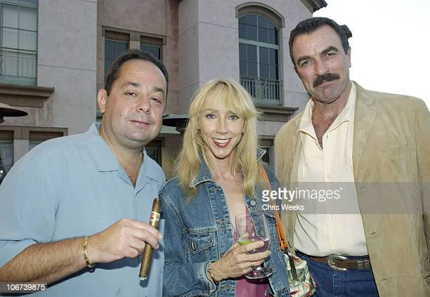 Stan Shuster Jilly Mack Tom Selleck during 8th Anniversary of the Grand Havana Room and the Premiere of James Orr's Documentaries on the Fuente...