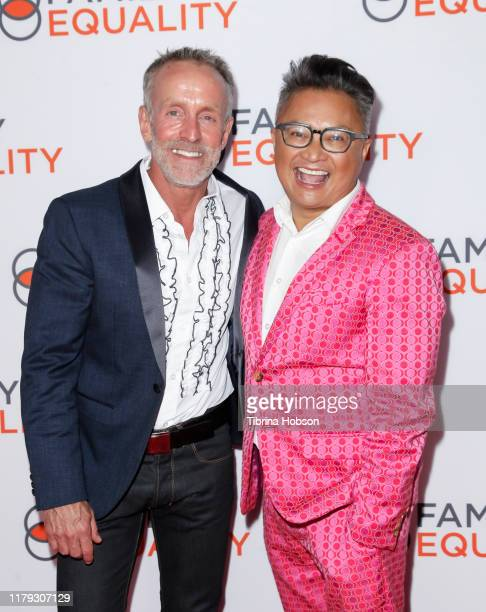 Stan Sloan and Alec Mapa attend the Family Equality Los Angeles Impact Awards 2019 at a Private Residence on October 05, 2019 in Los Angeles,...