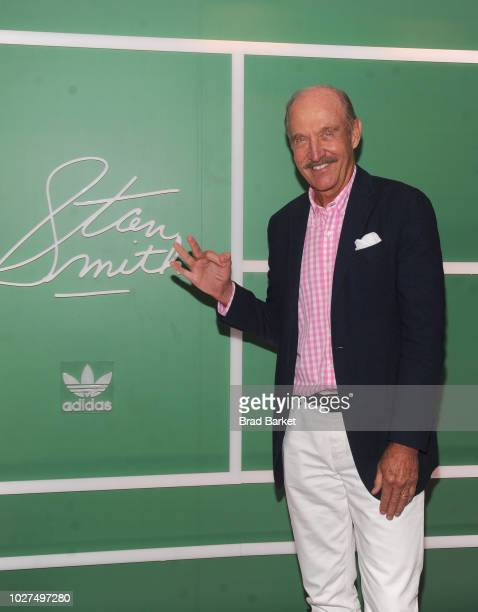 Stan Smith attends as adidas Originals and Stan Smith celebrate the book launch of 'Stan Smith Some People Think I'm A Shoe' on September 5 2018 in...