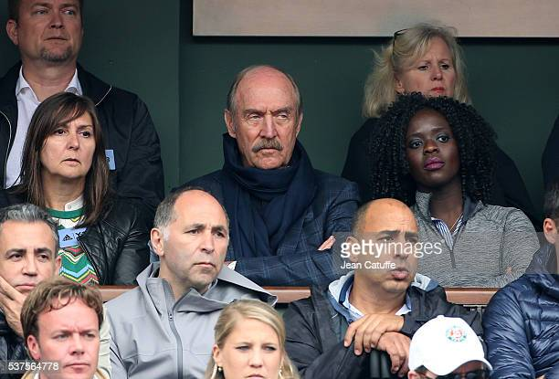 Stan Smith attends day 11 of the 2016 French Open held at RolandGarros stadium on June 1 2016 in Paris France