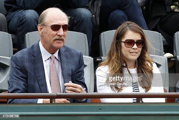 Stan Smith attends day 8 of the French Open 2015 at Roland Garros stadium on May 31 2015 in Paris France