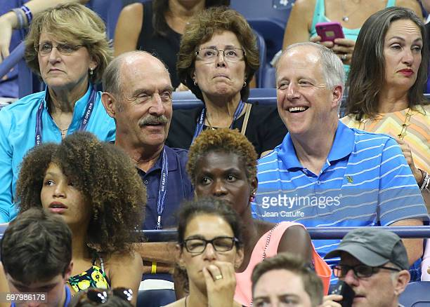 Stan Smith attends the 2016 US Open opening night at USTA Billie Jean King National Tennis Center on August 29 2016 in the Queens borough of New York...