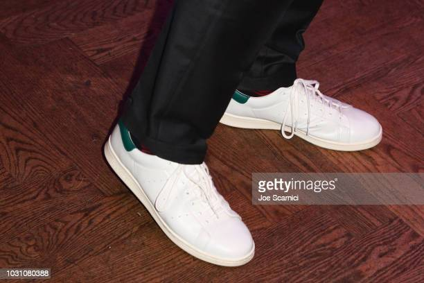 Stan Smith fashion detail at the Stan Smith's Book Launch hosted by RBC House during 2018 Toronto International Film Festival at RBC House on...